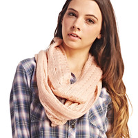 Solid Sweater Knit Eternity Scarf | Wet Seal