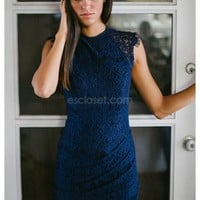 Bianca- Be absolutely stunning in our Bianca dress! It's a navy lace