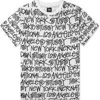 Stussy White Cities T-Shirt | HYPEBEAST Store. Shop Online for Men's Fashion, Streetwear, Sneakers, Accessories