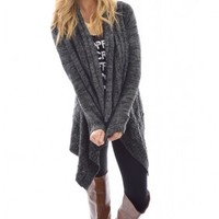 Loose Ends Draped Cardigan
