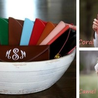 SUPER SALE PRICING!! Monogrammed Crossbody Clutches