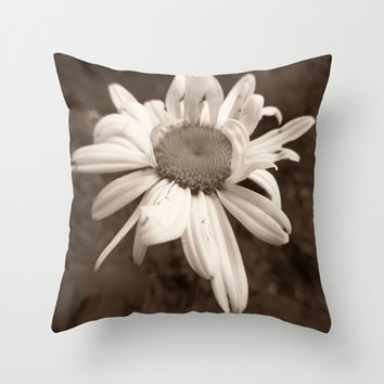 Imperfect Beauty Throw Pillow by Art by Mel | Society6
