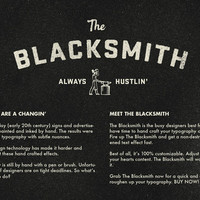 The Blacksmith - Type Roughening Action
