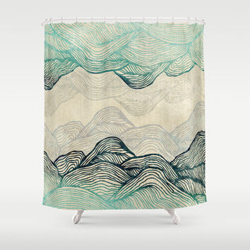 Crash Into Me  Shower Curtain by rskinner1122