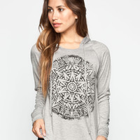FULL TILT Medallion Womens Loose Fit Hoodie 245994595 | 90's Muse