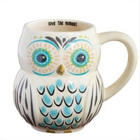 Love The Moment Owl Mug