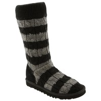 UGG® Australia 'Classic Tall' Stripe Cable Knit Boot (Women) | Nordstrom