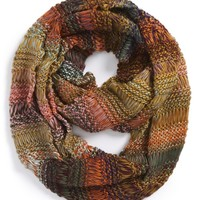Junior Women's BP. Multi Stripe Knit Infinity Scarf