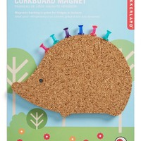 Kikkerland Design Hedgehog Magnetic Corkboard