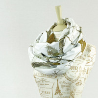 RealTree Snow Camo Infinity Scarf Camouflage Real Tree