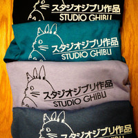 Studio Ghibli Inspired Screenprinted T-Shirt