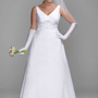 Buy Satin A-Line Gown with Pleated Waist Detail Style 9SAS1202  for $128.99 only in Fashionwithme.com.
