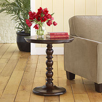 Raja Round Pedestal Table | Living Room Furniture| Furniture | World Market