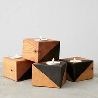 Farmhaus Douglas Fir Candle Holder - Urban Outfitters