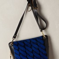 Selcouth Crossbody Bag by Laael Blue Motif One Size Bags
