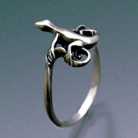 Lizard Ring by SheppardHillDesigns on Etsy
