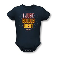 Star Trek - I Just Boldly Went Infant Snapsuit T-Shirt
