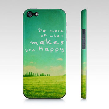 Do More phone case- photography- landscape- blue- green- typography- inspiring words- Samsung case- gift