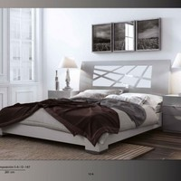 Composition 5A Platform Bed - Opulentitems.com