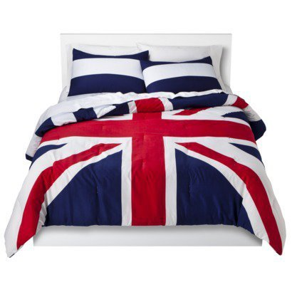 Union Jack Reversible Bedding Set