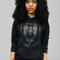 The Unseen All Black Hoody: Women