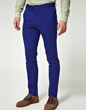 ASOS Skinny Fit Suit Trousers in Wool Blend at asos.com