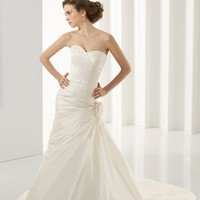 Trumpet Sweetheart Floor Length Gown with Taffeta Style 4530 $134.26 only in eFexcity.com.