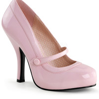 Baby Pink Patent Leather Cutie Pie Pumps