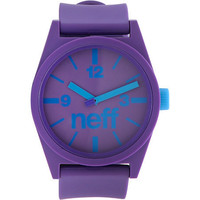 Neff Daily Purple Analog Watch  at Zumiez : PDP