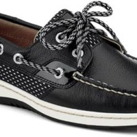 Sperry Top-Sider Bluefish Sport Mesh 2-Eye Boat Shoe Black/SportMesh, Size 10M  Women's Shoes