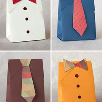 DIY Father?s Day Shirt & Tie Gift Boxes | Paper Crave