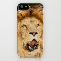 COOL PUNK LION iPhone & iPod Case by Catspaws | Society6