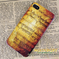 Fashion Retro Music operator Hard case cover For Apple iPhone 4,iPhone 4s 4g