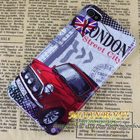 Fashion Retro London Car Hard case cover For Apple iPhone 4,iPhone 4s 4g