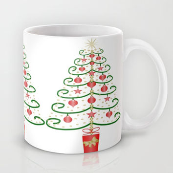 Christmas Tree Design Mug by Justbyjulie