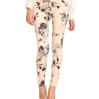 Floral Jeans