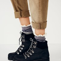 Free People Womens Icon Hiker Boot - Black