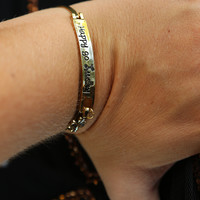 Happy Go Lucky Bracelet: Gold - One