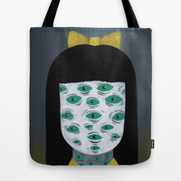 bright monsters II Tote Bag by Ally Burke