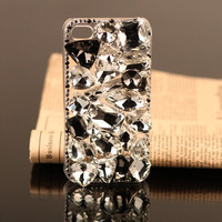 Gullei Trustmart : iPhone 4S 4G 3GS crystals case shiny hard back cover for girls [GTMIPC007] - $37.00 - Couple Gifts, Cool USB Drives, Stylish iPad/iPod/iPhone Cases & Home Decor Ideas