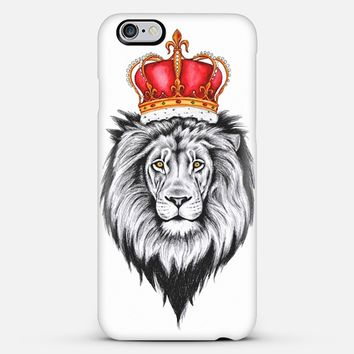 Lion king iPhone 6 Plus case by Libby Watkins | Casetify