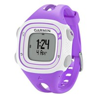 Garmin - Forerunner 10 GPS Sport Watch - Violet/White