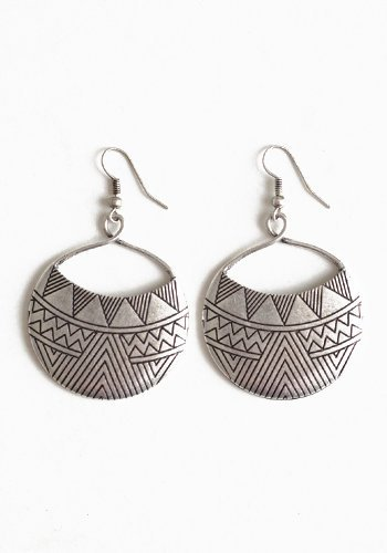 Aztec Sun God Earrings - $10.00 : ThreadSence.com, Free-spirited fashion for the indie-inspired lifestyle