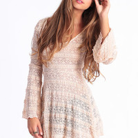 Woodstock Dreams Lace Dress - $52.00 : ThreadSence.com, Free-spirited fashion for the indie-inspired lifestyle