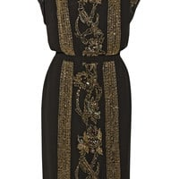 DAY Birger et Mikkelsen - Night Goldie embellished crepe dress