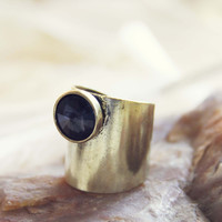 Night Sky Ring - Gold