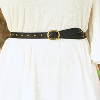 Such A Stud Belt: Black