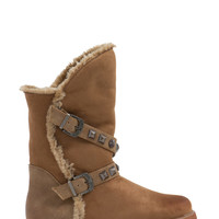 Stud Muffin Faux Suede Boots