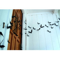 Halloween Bat Wall Decorations