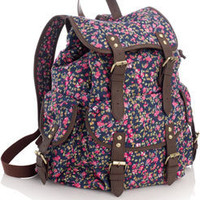 Abbey Ditsy Floral Rucksack at Accessorize